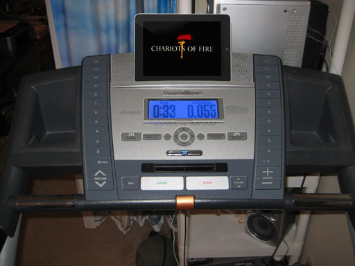 Doctor's orders: Treadmill and a Show