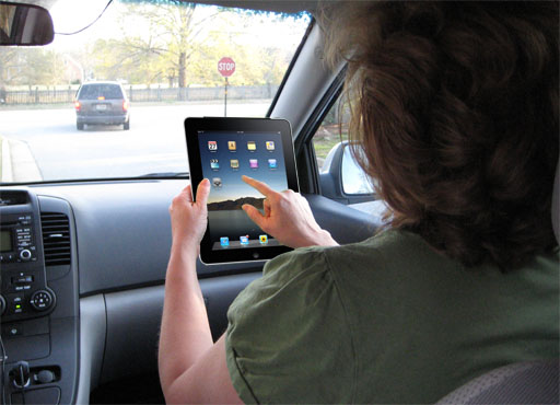 iPad, the parallel planning tool... soon to be all the rage. - GPS - travel