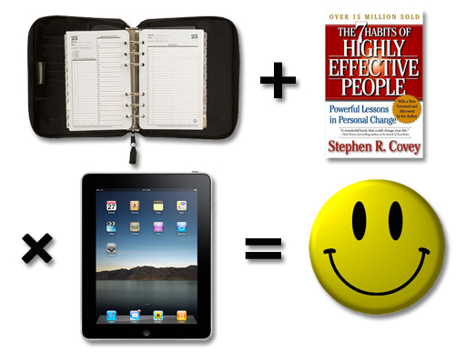 3 great works - that work great together - Franklin - Covey - Apple - iPad